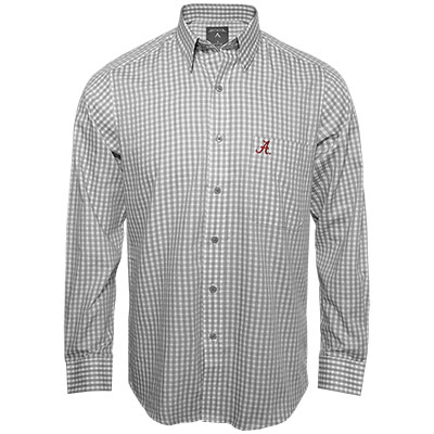 Clearance - Alabama Script A Structure Long Sleeve Button Down Shirt