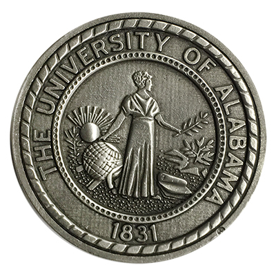Ua Custom Sparta Pewter Coin