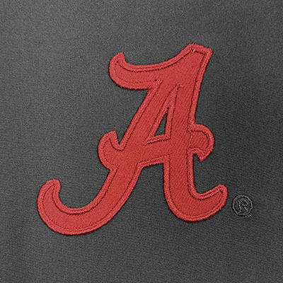 ALABAMA SCRIPT A GUMBLE 1/4 ZIP FLEECE PULLOVER