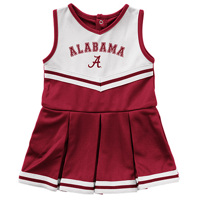 Alabama Pinky Infant Cheer Dress