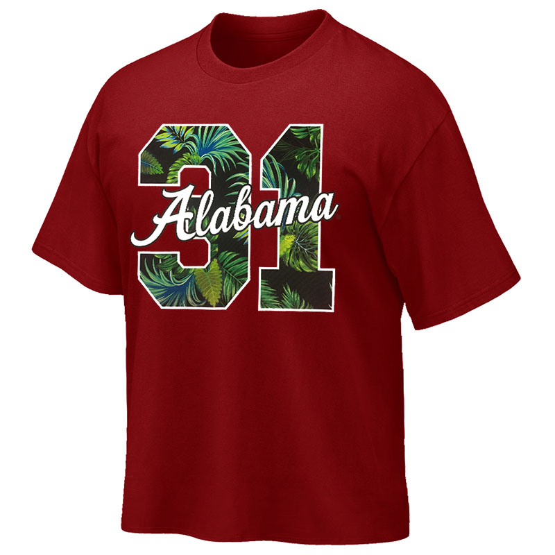 Alabama '31 Hibiscus Hawaiian T-Shirt (SKU 13237592102)