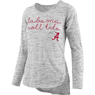 Alabama Roll Tide Regan Viscose Long Sleeve T-Shirt