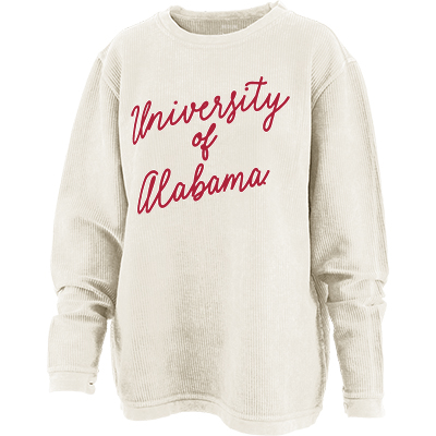 University Of Alabama Comfy Cord Crimson Script