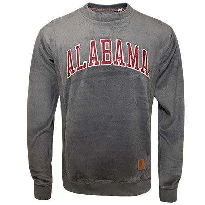 Alabama Velour Crew Sweatshirt
