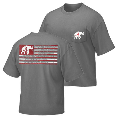 Alabama Fight Song Flag T-Shirt