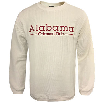 Alabama Crimson Tide Bryce Corded Crew Sweatshirt