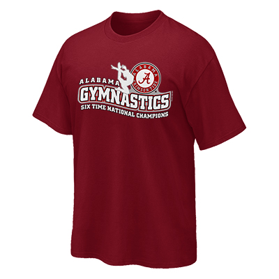 Alabama Gymnastic Wavy T-Shirt