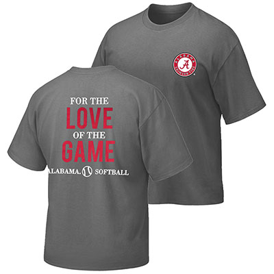 Alabama Softball Love The Game T-Shirt