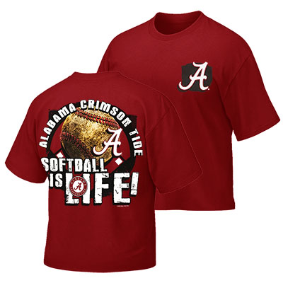 Alabama Youth Softball Life T-Shirt