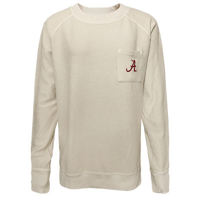 Alabama Corded Long Sleeve Shirt With Pocket