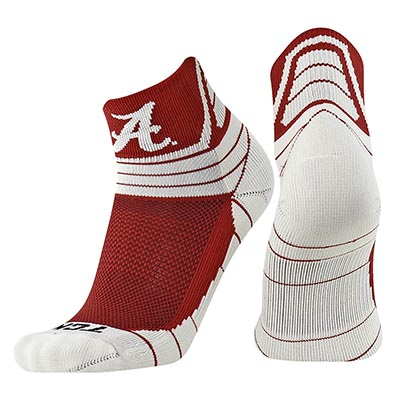 Alabama Victory Quarter Socks