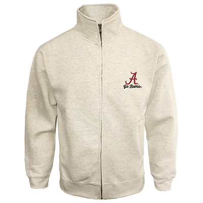 Go Bama Pro-Weave Full Zip Warm Up