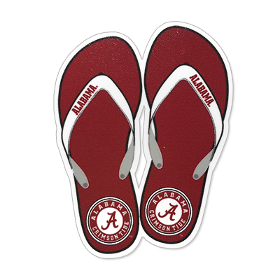 Alabama Flip Flops Decal