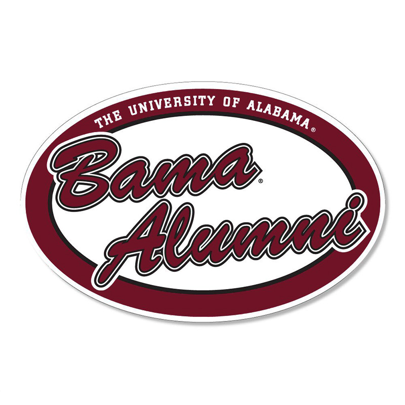 Oval Bama Alumni Decal (SKU 13248857115)