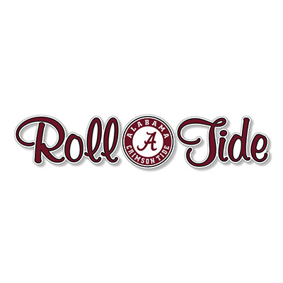 Roll Tide Circle A Logo Decal