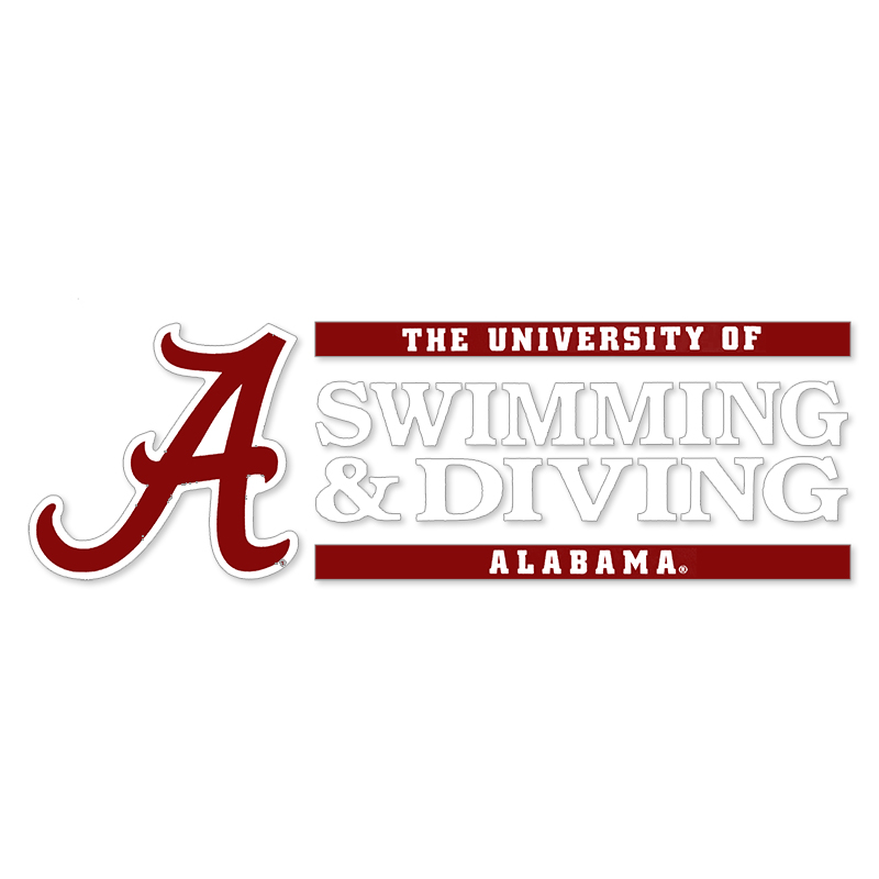 Script A Swimming & Diving Decal (SKU 13249090115)