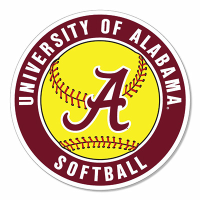 Alabama Softball Magnet