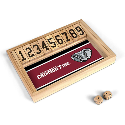 Alabama Shut The Box Game