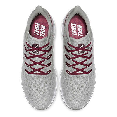 ALABAMA NIKE MEN'S AIR ZOOM PEGASUS 36 SHOE
