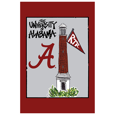 Alabama Unique Garden Flag