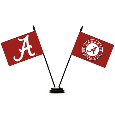 Alabama Desk Flag Set