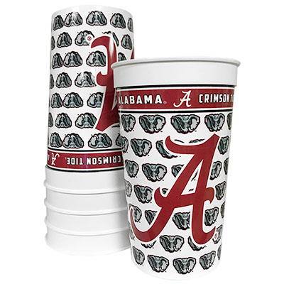 Alabama Memorables Stadium Cups