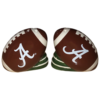 ALABAMA FOOTBALL SALT AND PEPPER SHAKERS
