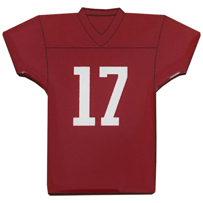 Alabama Football Jersey Magnet