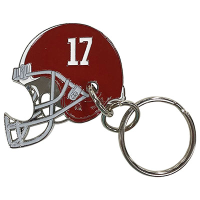 Alabama Football Hemlet Bottle Opener Keychain