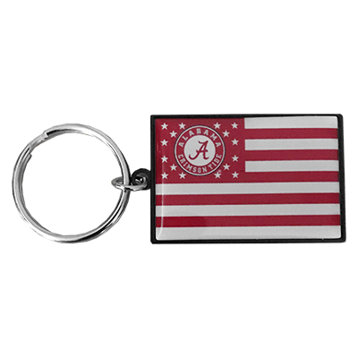 Alabama Flag Keychain