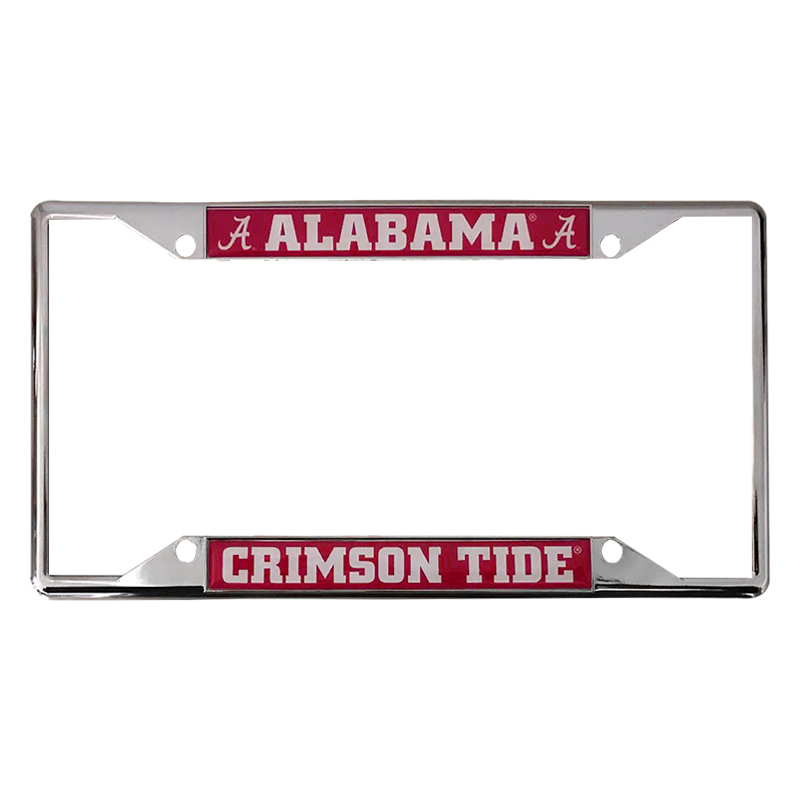 License Plate  Frame With  Alabama Script A (SKU 1325375239)