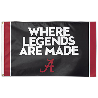 Where Legends Are Made Deluxe Flag