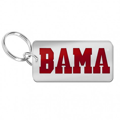 Bama Inlaid Key Chain