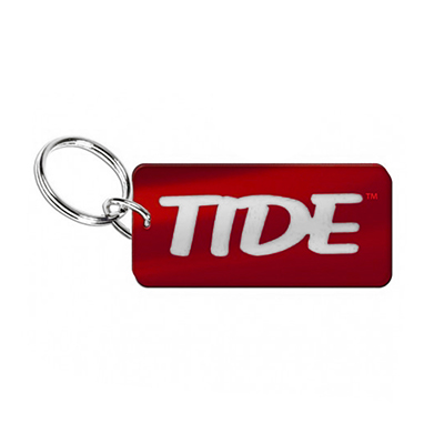 Tide Inlaid Key Chain