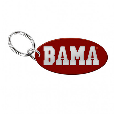 Bama Oval Inlaid Key Chain