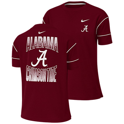 Alabama Nike Women's Breathe Fashion Short Sleeve Top