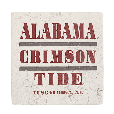 Alabama Club Single Coaster