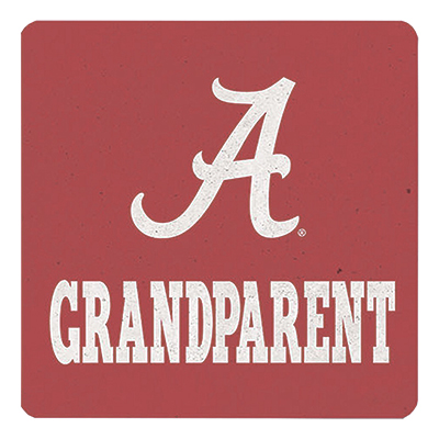 Alabama Grandparent Single Ceramic Coaster