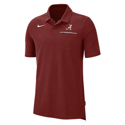 ALABAMA NIKE MEN'S DRY SHORT SLEEVE POLO