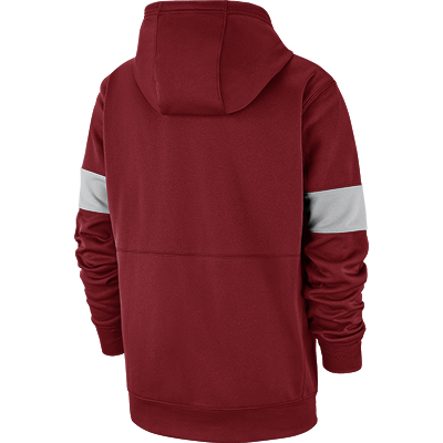 ALABAMA CRIMSON TIDE NIKE THERMA PULLOVER HOODIE