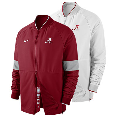 Alabama Nike Men's Therma Mid Weight Jacket