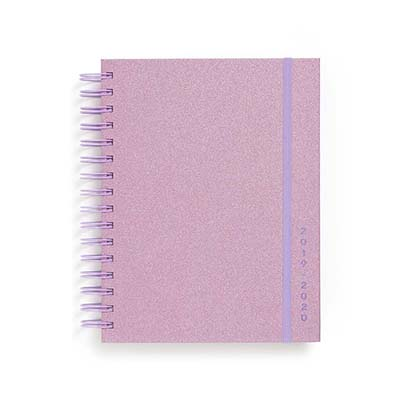 Planner - Lilac Glitter