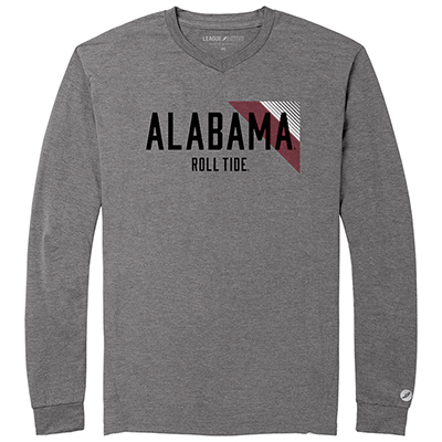 Alabama Roll Tide Tri-Flex Long Sleeve T-Shirt