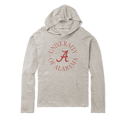 University Of Alabama Lightweight Slub Hoodie