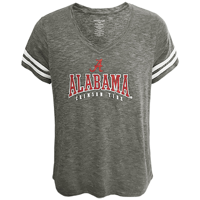 Alabama Plus Sporty Slub T-Shirt