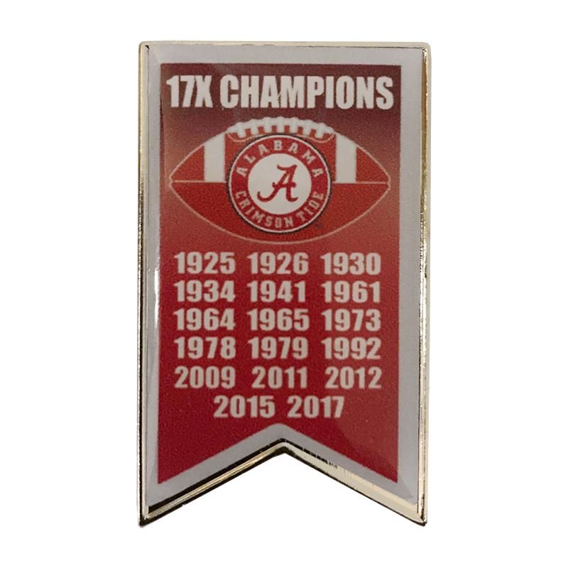 Championship Banner Pin