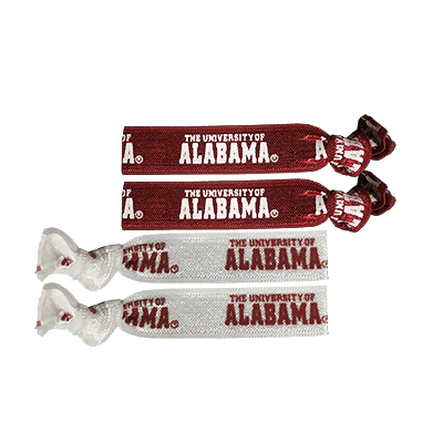 Alabama Elastic Hair Ties
