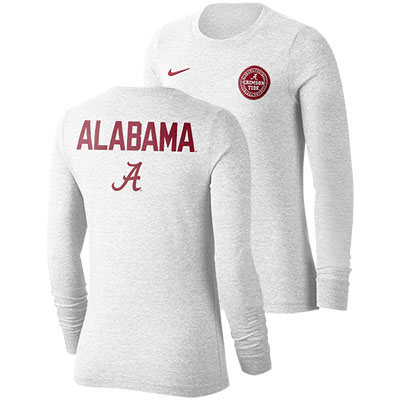 Alabama Football Statement Long Sleeve Rivalry T-Shirt