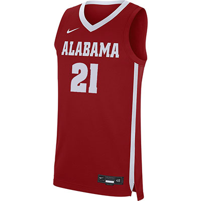 Alabama Basketball Road Replica Jersey