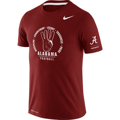 Alabama Football Commitment Dri-Blend Rivarly T-Shirt